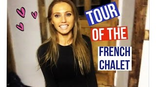 Tour of the French Chalet (where I film all my workout and nutrition videos)