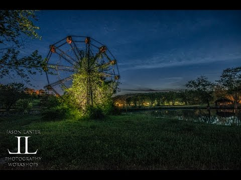 ALONE at the Haunted Lake Shawnee Amusement Park with Jason Lanier