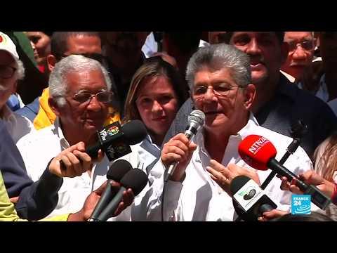 """Oposición venezolana convoca asambleas ciudadanas para """"luchar"""" contra elecciones del 20 de mayo"""
