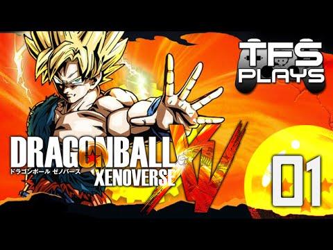 TFS Plays: Dragonball Xenoverse - 1 -