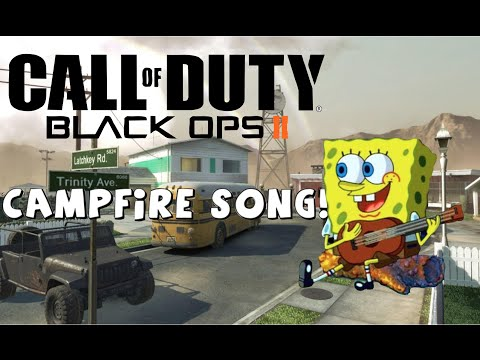 Campfire Song! - Spongebob Black Ops 2 quick scoping remix