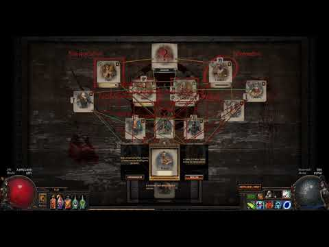 1.5 Hours of Syndicate Harbour Bridge Farming with Commentary - Path of Exile Betrayal League