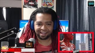 Spider-Man (PS4) 2017 E3 Gameplay (SONY STREAM LIVE REACTION)