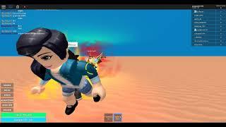 Ola q ase jugando Dragon Ball Rage (ROBLOX)