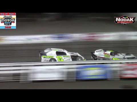 Nodak Speedway IMCA Sport Mod A-Main (Motor Magic Night #2) (9/2/18)