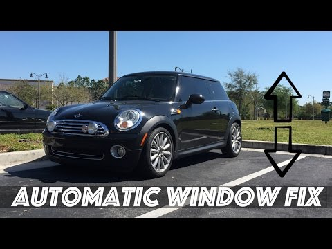 Mini Cooper Automatic Window Fix - YouTube
