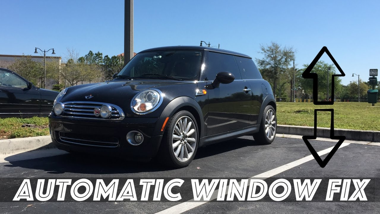Mini Cooper Automatic Window Fix