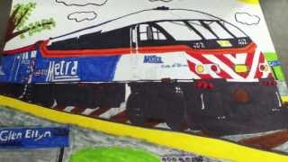 """Drawing of Metra MP36PH-3S 402 """"State of Illinois"""""""