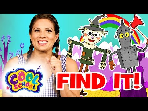 Find Dorothy's Friends!💚Wizard of Oz Story Time with Ms. Booksy | Find It Games | Cartoons for kids