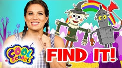 Find Dorothy's Friends!Wizard of Oz Story Time with Ms. Booksy | Find It Games | Cartoons for kids