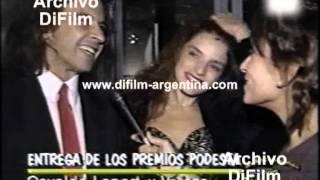 DiFilm - Reportaje a Osvaldo Laport y su esposa Viviana (1994)