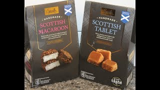 Handmade Scottish: Macaroon and Tablet Review