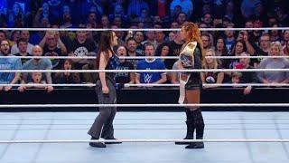 Becky Lynch Vs Nikki Cross WWE Smackdown Live 06 11 2018 En Español