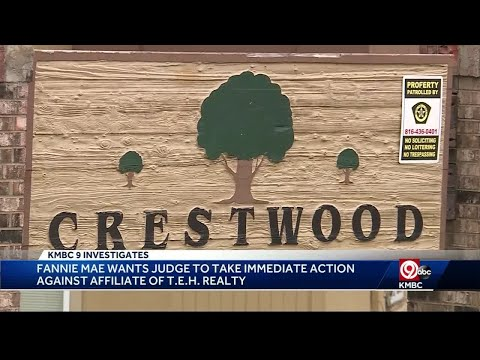 Fannie Mae Asks Judge To Take Action At KCK Apartment Complex