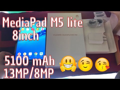 Huawei Mediapad M5 lite 8 inch Unboxing & Full Specifications 2019