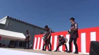 松飛台祭りでのフラジャイルその1 FRAGILE ダンス.