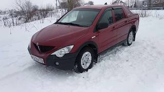 Ssangyong Action Sports 2008 АКПП 2,О ДИЗЕЛЬ