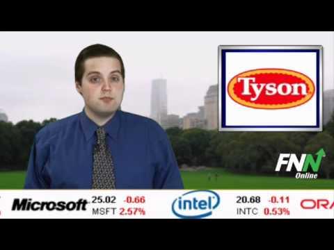 Tyson Shares Climb On Earnings