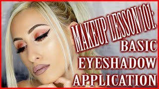 The ULTIMATE Basic Eyeshadow Application HACKS  || Step by Step Makeup Lesson 101