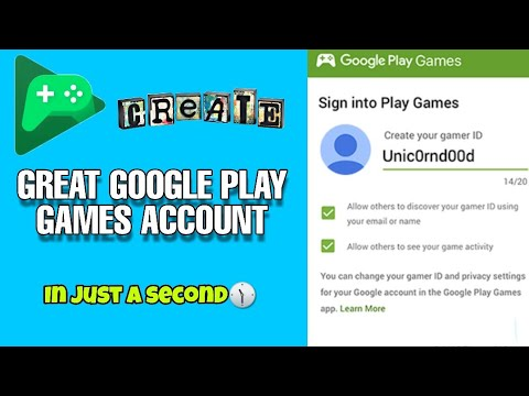 How To Create Google Play Game Account