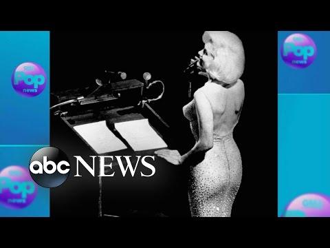 Marilyn Monroe's 'Happy Birthday Mr. President' Dress Sold for $4.8 Million