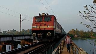 ED WAP4 Dhanbad - Alappuzha Express & RPM WAP7 Alappuzha - Chennai Express