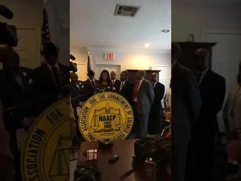 NAACP - Houston Press Conference - Bob McNair inmate