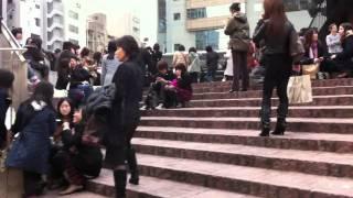Panic in tokyo!    earthquake  20110311