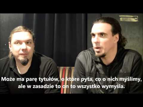 Interview with Sonata Arctica + napisy pl