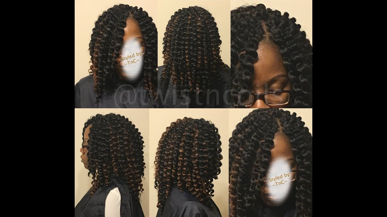 Crochet Hair Making : ... Crochet Braids in 2hrs or Less - Deja Vu Samba Pre-Curled Hair