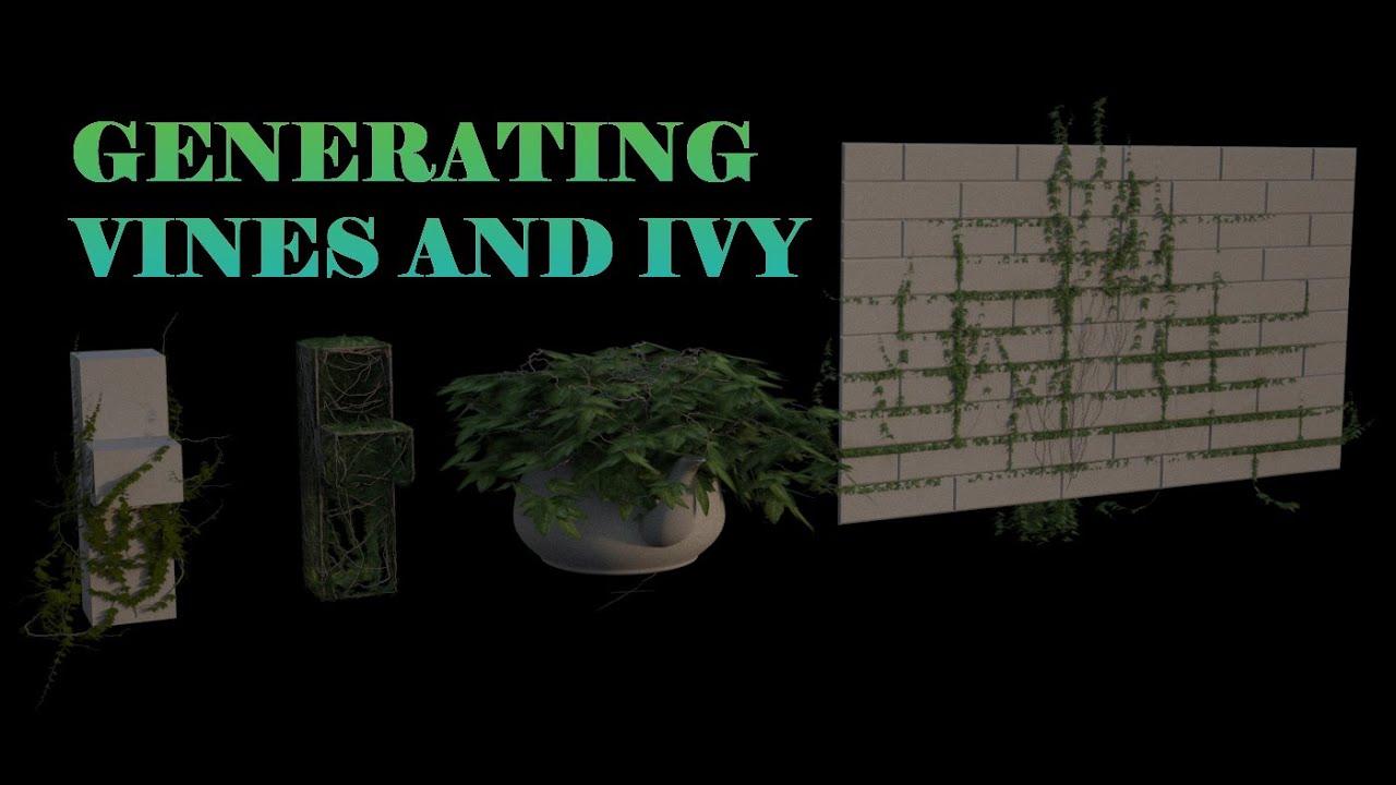 3ds Max Ivy Generator