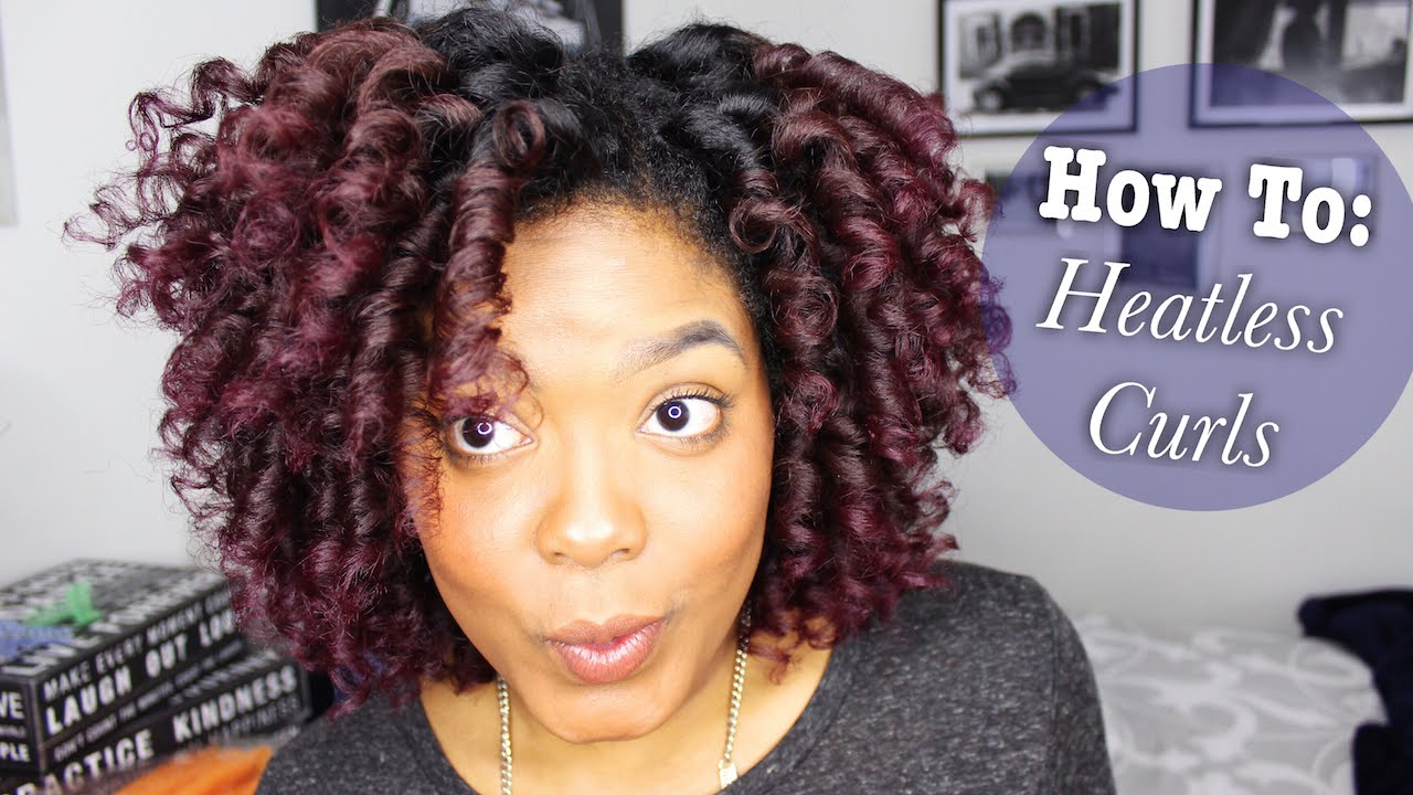 How To Make Spiral Curls On Natural Hair