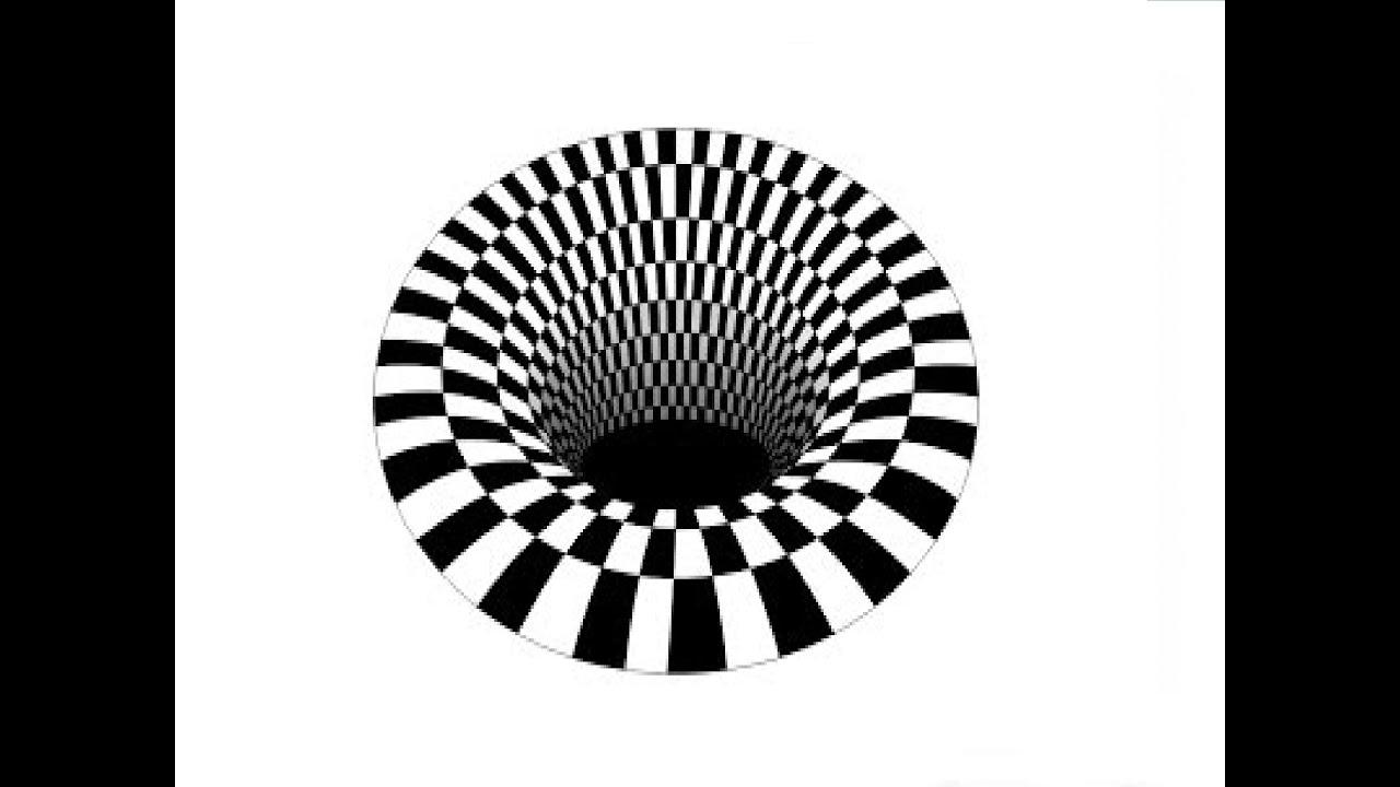 illusion hole optical 3d drawing иллюзия оптическая