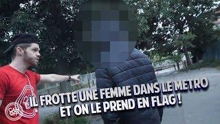 ON ATTRAPE UN HOMME QUI POURSUIT UNE FEMME DANS LE MÉTRO  ! ( CAM OFF )