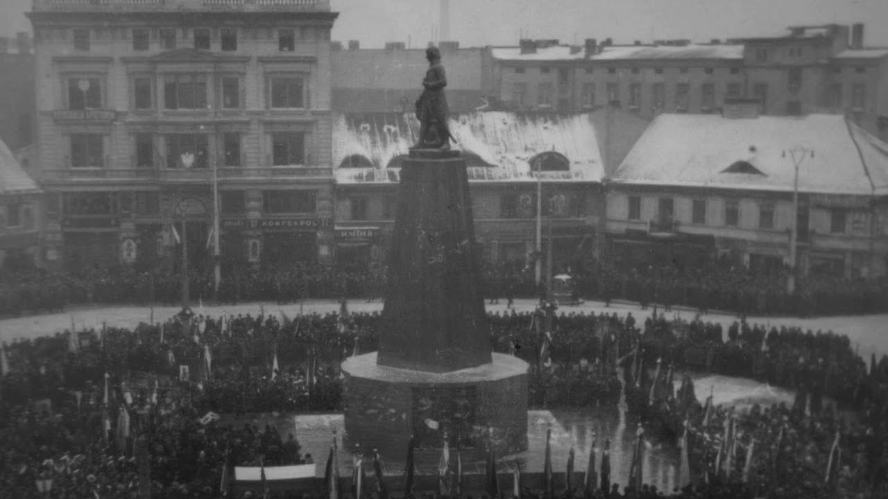 87-lecie odsłonięcia pomniku Tadeusza Kościuszko w Łodzi