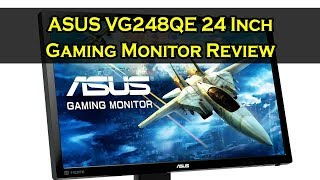 ASUS VG248QE 24 Inch 144 Hz Gaming Monitor Review & Specs 2019