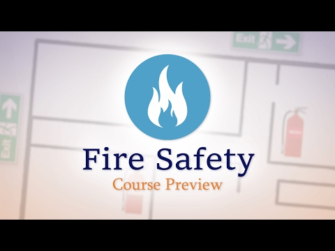 Fire Safety - E-Learning Course Preview
