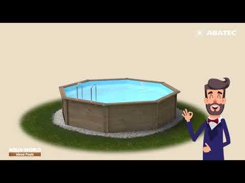 Installing Your Aqua World Wood Pool