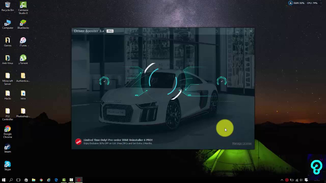 Driver booster 3.4 key