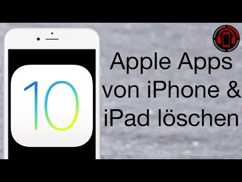 iOS 10 Review - Vorinstallierte Apple Apps löschen auf iPhone & iPad