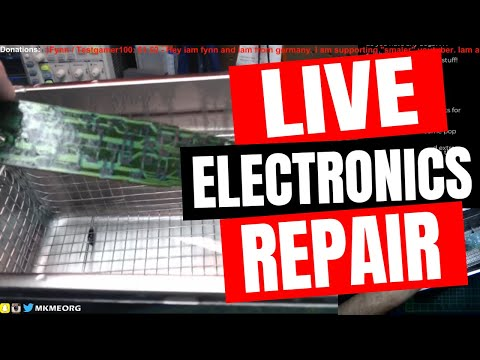 🔴 LIVE: Broken Remote Control Fix With UltraSonic Cleaner- Warning GROSS!