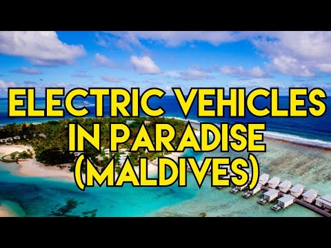Electric vehicles in paradise (MALDIVES)