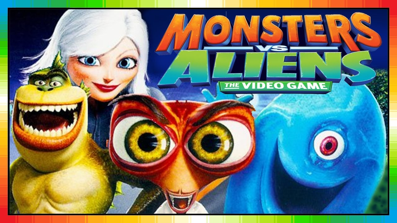 Aliens Vs Monster ENGLISH kids movie Monsters Vs Alien