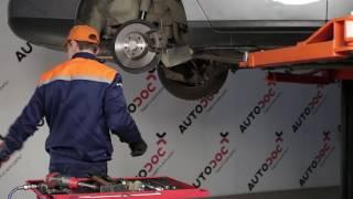 Oglejte si kako rešiti težavo z spredaj desni Zglob stabilizatorja VW: video vodič