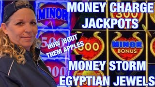 Money Charge Jackpots & Money Storm Egyptian Riches Choctaw Durant