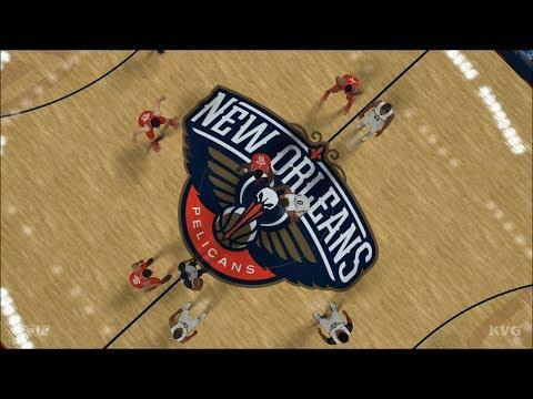 NBA 2K18 - New Orleans Pelicans vs Houston Rockets - Gameplay (PS4 HD) [1080p60FPS]