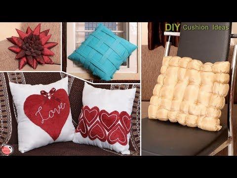 5 DIY Pillow Making Ideas !!! Handmade Cushion at Home