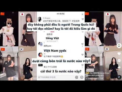Phản ứng của Netizen Trung Quốc khi so sánh gái Việt Nam, Trung Quốc, Hàn Quốc, Nhật Bản