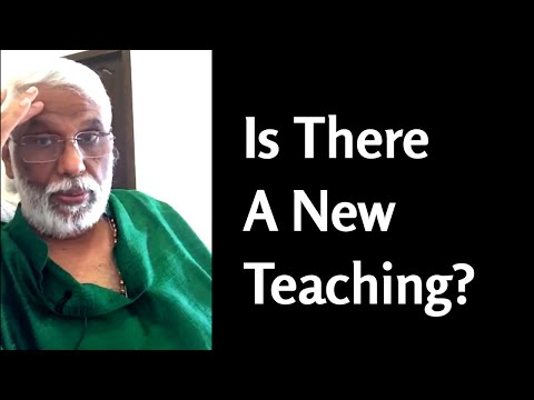 Is There A New Teaching?