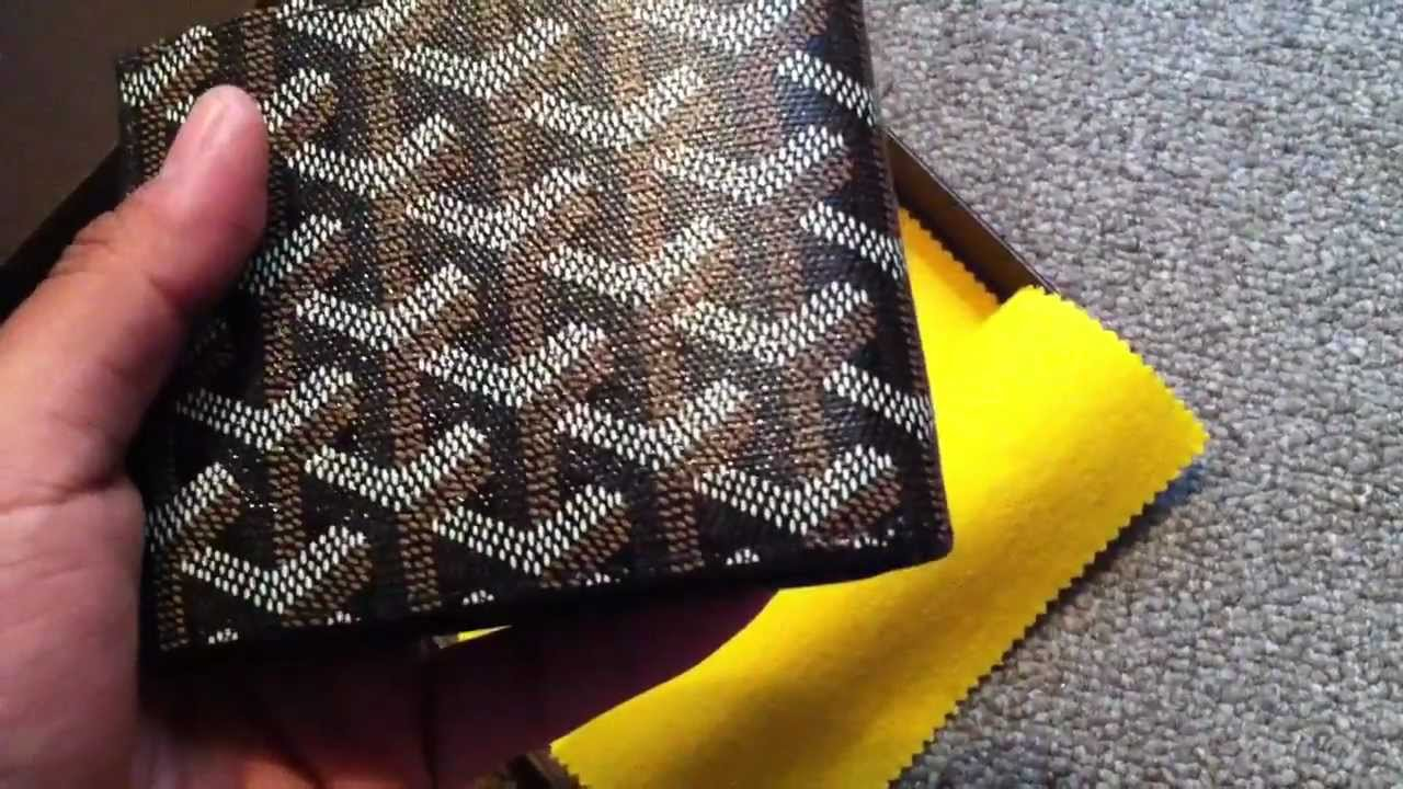 867e9a97dde3 Goyard Unboxing - YouTube